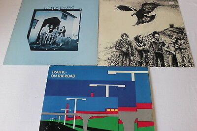 Traffic - Sammlung 3 LP's