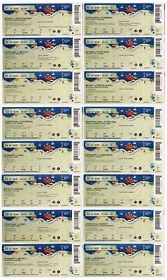 FIFA Confed Cup 2017 ticket set Germany Mexico Chile Portugal Australia final