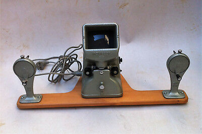 VINTAGE 16 mm ZEISS IKON MOVIOLA BETRACHTER VISIONNEUSE MOVISCOP