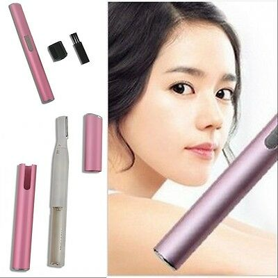 Women Practical Electric Shaver Bikini Legs Eyebrow Trimmer Shaper Hair Remover