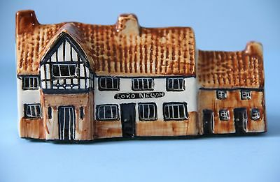 TEY Pottery Miniature Model Public House LORD NELSON Reedham Norfolk