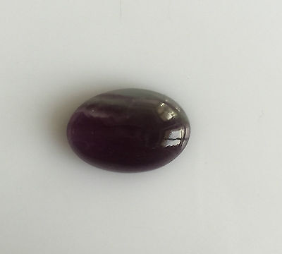 13.15 Ct Natural Multi Color Fluorite Oval Cabochon Loose Gemstones 13 X 20 Mm