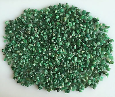 252 Ct Natural Emerald Green Rough Gemstones Loose Mineral Lot Raw Wholesale