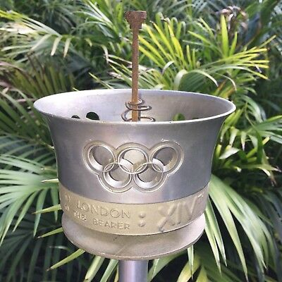 1948 London Olympic Runners Torch in Good Condition **Rare** Burner