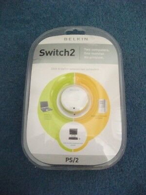 Belkin OmniView Switch 2 Series 2 Port KVM Switch with Remote