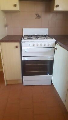 kitchen Freestanding Chef Cook top, Grill & Oven, sink and Cupboards Complete