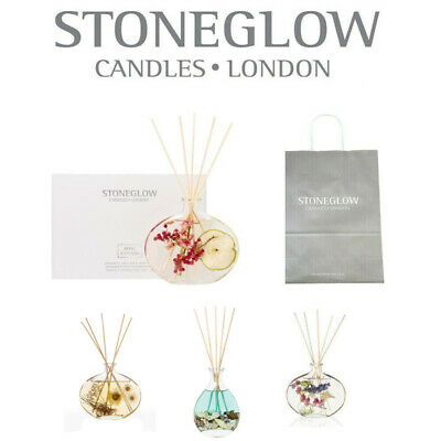 Stoneglow Reed Diffuser, Nature's Gift + Extra Sticks & Bag You Choose Scent.