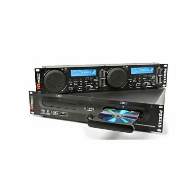 Power Dynamics 172.713 Pdx115 Reproductor Doble Cd/sd/usb/mp3