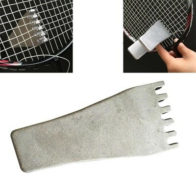 Newly Badminton Clamp Steel Racquet Stringing Tool Tennis Flying Clamp Accessory