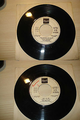 BEATLES LET IT BE / YOU KNOW MY NAME PER JUKE BOX ITALY 1970 APPLE + omaggio