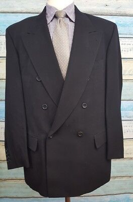 Hugo Boss Size 52R (42 US) Wool Blend 2 Button Double Breasted  Mens Blazer