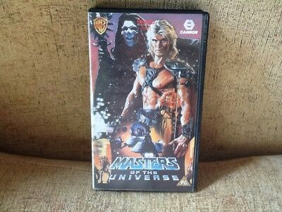 Vhs Video Classic - Masters Of The Universe - Old & Rare Videos  - Canon 1987