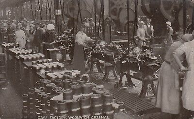 Munitions - WW1 Royal Arsenal Woolwich Case Factory