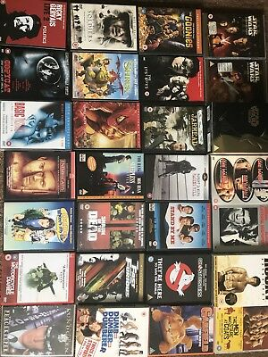100+ Mixed DVD Collection