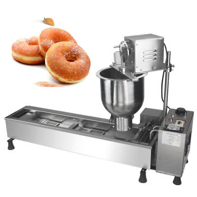 High standard Commercial Automatic Donut Maker Making Machine,Wide Oil Tank New.