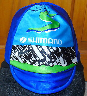 Excellent Condition Vintage Shimano Lined Winter Cycling Cap