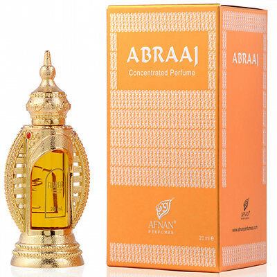 Abraaj  concentrated perfume oil 20ml for unisex by afnan