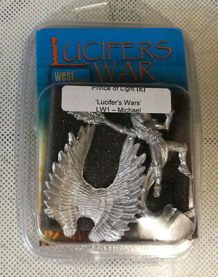 Prince of Light (Michael) figure: Lucifer's War. 28 mm metal (West Wind)
