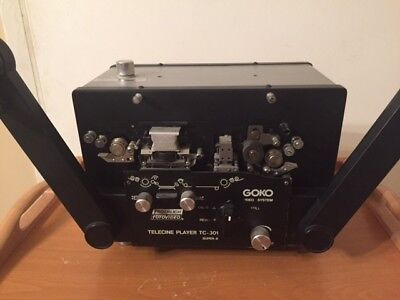 Goko TC-301 Super 8 Sound Telecine Projector - Works GREAT - FREE Shipping