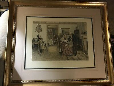 W. DENDY SADLER ORIGINAL FOR FIFTY YEARS SIGNED Beautifully framed