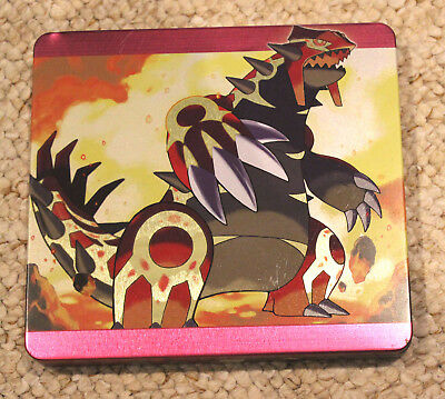 *no Game* Pokemon Omega Ruby Version Steel Book Case Box Only Nintendo 3Ds / 2Ds