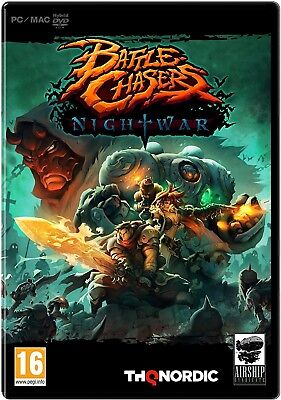 Battle Chasers: Nightwar (PC DVD) NEW & Sealed