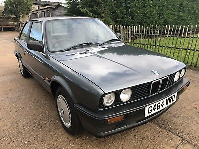 BMW 316i Coupe E30 Only 88k miles, new MOT. 1 Owner from new until August 2017.