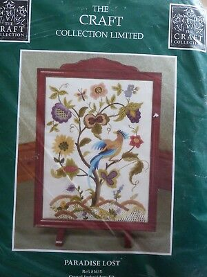 "'Paradise Lost' Crewel Embroidery Kit 14.5"" x 19.5"" The Craft Collection"