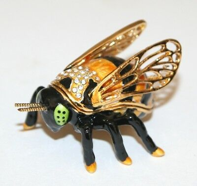 BEE Trinket Box / Ornament Gift *NEW* Boxed