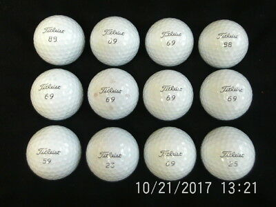 TITLEIST pro v1 2017 model high numbers x 12 grade 1 great condition
