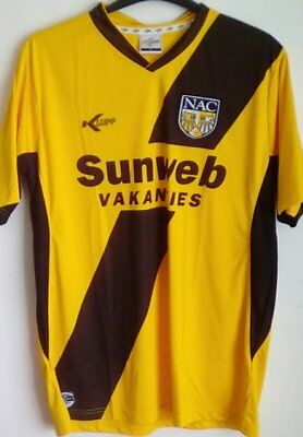 Rare NAC Breda home football shirt Extra large mens (XL) Eredivisie Netherlands