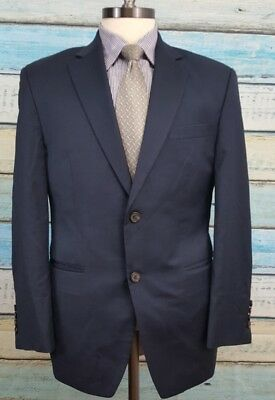 Ralph Lauren Size 38S Wool Single Breasted 2 Button Dark Blue Blazer