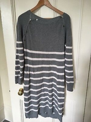Jojo Maman Bebe Maternity / Nursing Dress  M/L Knit Autumn / Winter