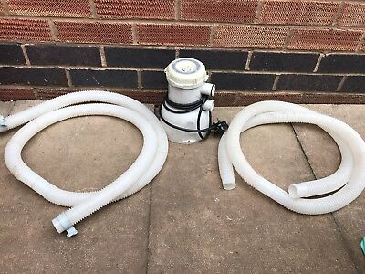 Blue Super Clean Pool Filter Pump AC-90576