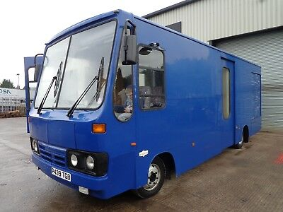 ford iveco race transporter motorhome
