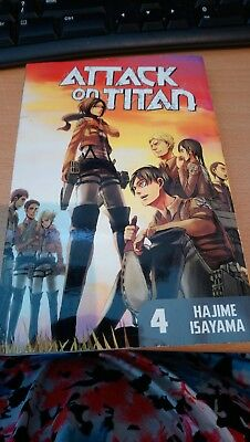 Attack on Titan Manga, Volume 4