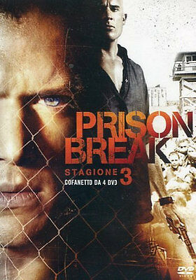 Prison Break - Stagione 3 Completa - (4 DVD) - ITALIANO ORIGINALE SIGILLATO -