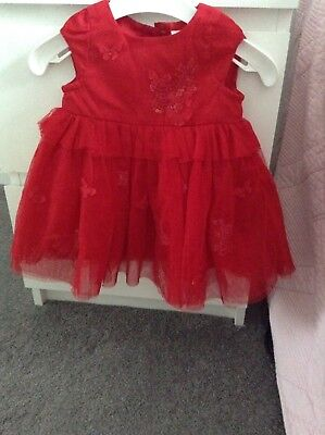 Next baby party dress 0to3months