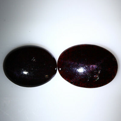 20.305 Ct Exclusive Brilliant! 100% Natural Top Red Garnet Star Unheated Cab !!!