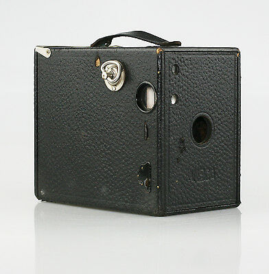 Vintage ANSCO No. 2A Buster Brown Box 118 Roll Film Camera c.1910-24 (F45)