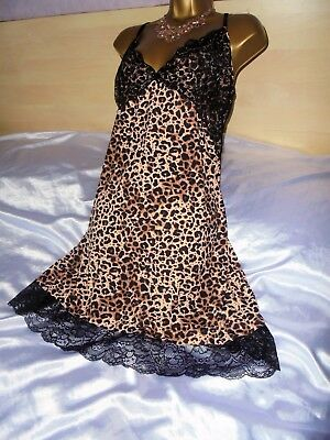 Stunning  mini slip  Exceptionally !!!  silky petticoat  gown baby doll 22/24