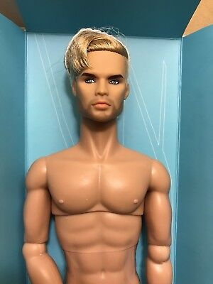 Fashion Royalty Style Lab Industry Homme Male Doll Nude Milo Montez