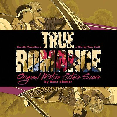 "True Romance - Coloured Vinyl + 7"" EP - Limited Edition - Hans Zimmer"