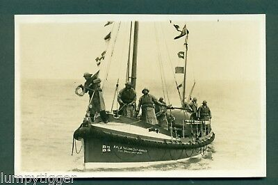 THE LORD SOUTHBOROUGH LIFEBOAT BY SUNBEAM OF MARGATE, vintage postcard