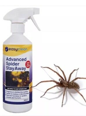 Advanced Spider Stay Away 500ml Trigger Spray. Deterrant for Spiders and Safe!