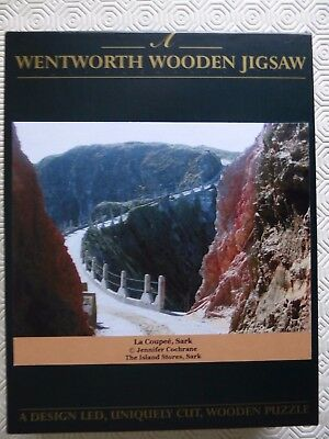 Wentworth 250 Pieces Wooden Jigsaw - La Coupee, Sark, Channel Islands