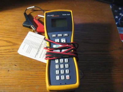 Fluke Networks TS54 TDR  Telephone Test Set ABN with piercing clips