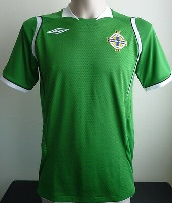 Northern Ireland Home Football Shirt 2008 2010 Official Umbro Size: Small