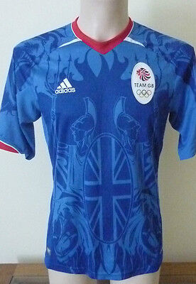 Team Gb Adidas Shirt Olympics 2012 Climacool Size Small