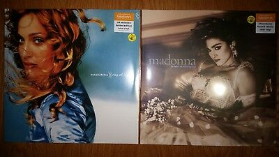 Madonna - Ray Of Light/Like A Virgin LIMITED COLOURED VINYL LPS 1000 EACH UK ONL